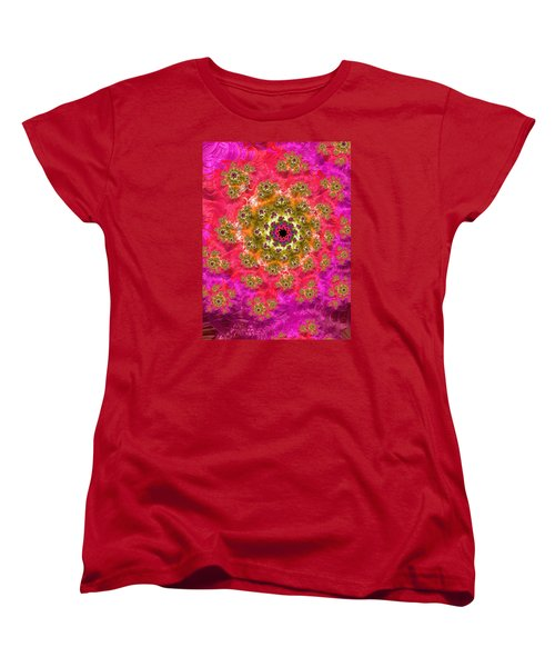 Women's T-Shirt (Standard Cut) featuring the photograph Black Hole Dresses For Bollywood by Ronda Broatch