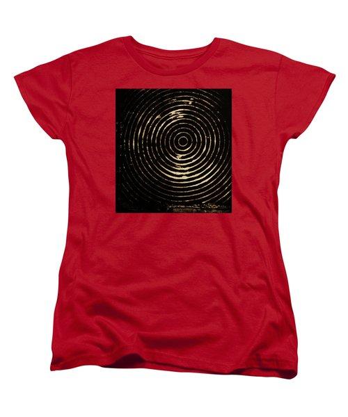 Bleached Circles Women's T-Shirt (Standard Cut) by Cynthia Powell