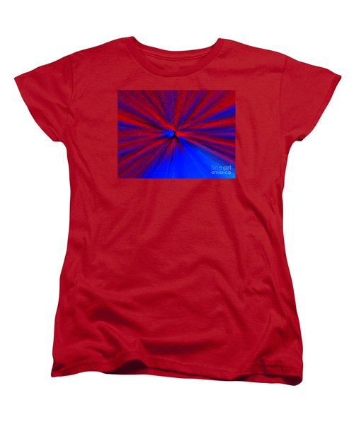 Women's T-Shirt (Standard Cut) featuring the photograph Block Zoom by Trena Mara