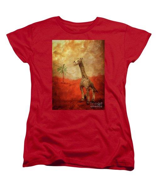 Block's Great Adventure Women's T-Shirt (Standard Cut) by Lois Bryan