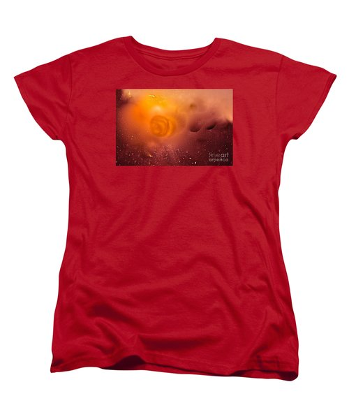 Blood Sun Women's T-Shirt (Standard Cut) by Patricia Schneider Mitchell