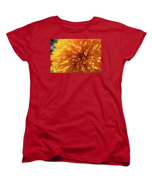 Women's T-Shirt (Standard Cut) featuring the photograph Blooming Sunshine by Marie Leslie