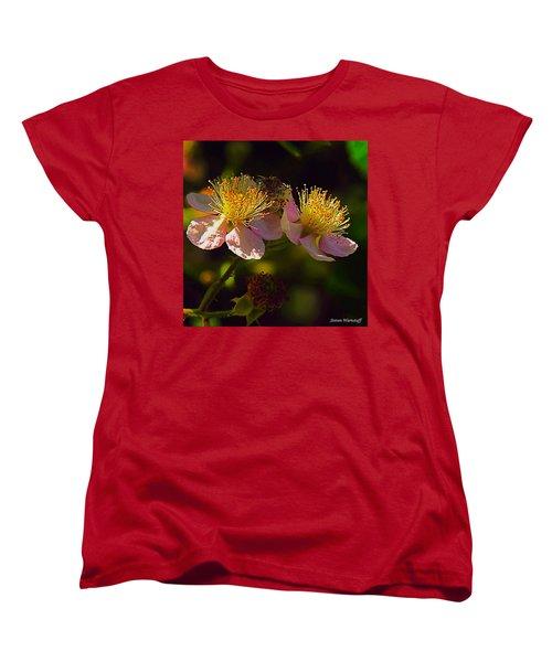 Blossoms.1 Women's T-Shirt (Standard Cut) by Steve Warnstaff