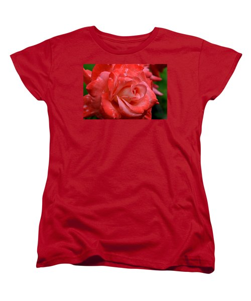 Blush After The Rain Women's T-Shirt (Standard Cut) by Janet Rockburn