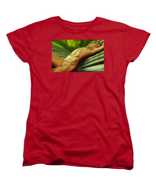 Bodyart 5 Women's T-Shirt (Standard Cut) by Tbone Oliver