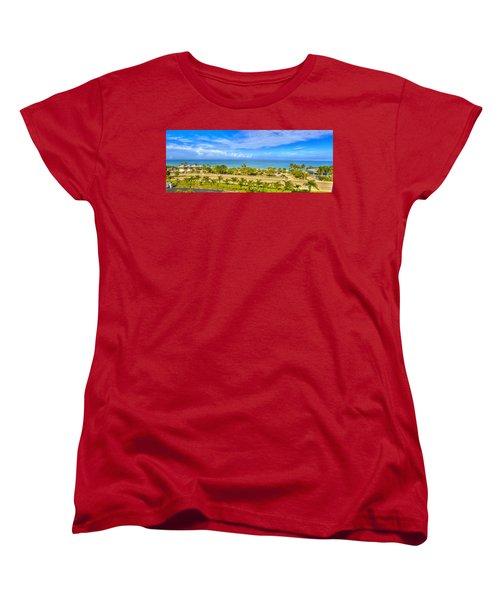 Bonita Beach Women's T-Shirt (Standard Cut) by Sean Allen