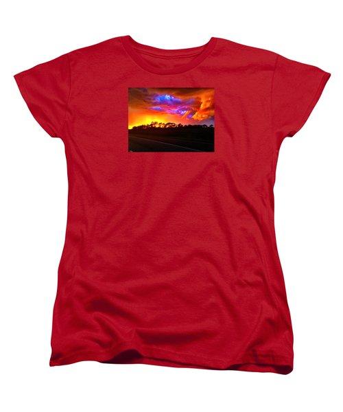 Borderline Women's T-Shirt (Standard Cut) by Zafer Gurel