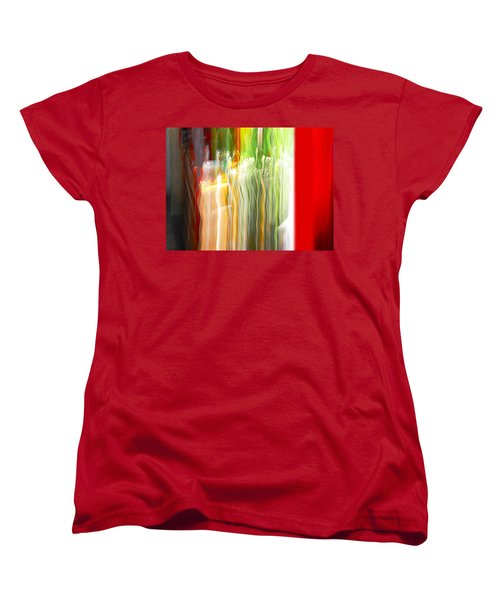Women's T-Shirt (Standard Cut) featuring the photograph Bottle By The Window by Susan Capuano