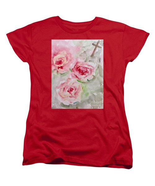 Bought With A Price Women's T-Shirt (Standard Cut) by Trilby Cole