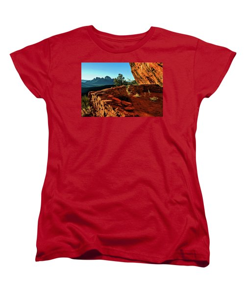 Boynton II 04-008 Women's T-Shirt (Standard Cut) by Scott McAllister