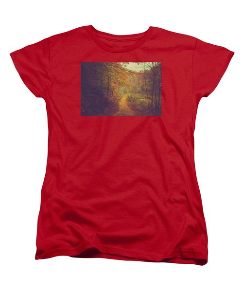 Women's T-Shirt (Standard Cut) featuring the photograph Breathe In Autumn by Shane Holsclaw