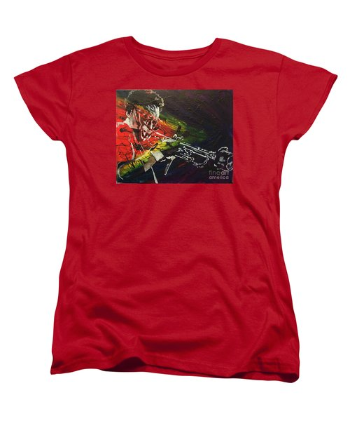Women's T-Shirt (Standard Cut) featuring the painting Brew The Bitch by Stuart Engel