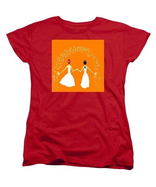 Brides Women's T-Shirt (Standard Cut) by Barbara Moignard