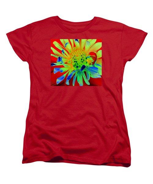 Bright Flower Women's T-Shirt (Standard Cut) by Diane E Berry