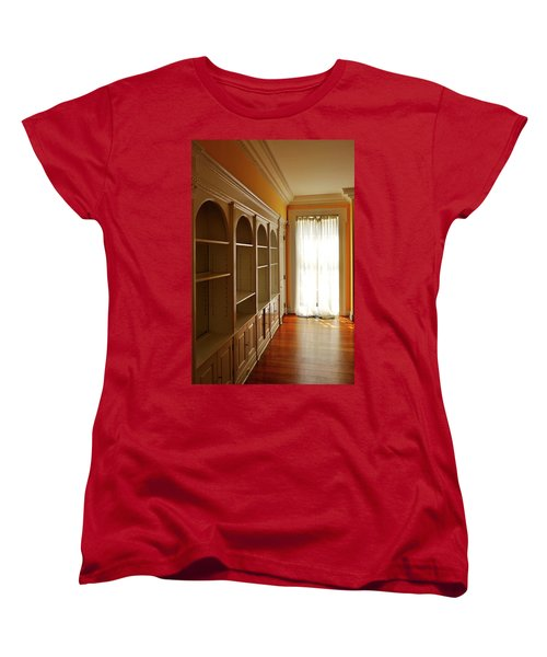 Bright Window Women's T-Shirt (Standard Cut) by Zawhaus Photography