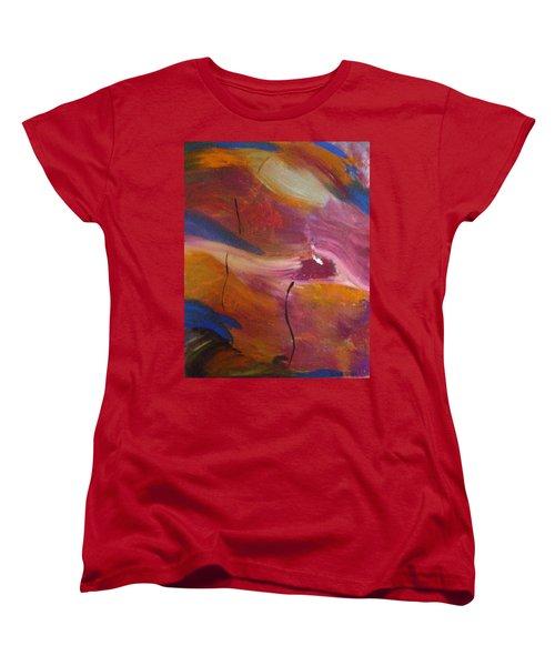 Broken Heart Women's T-Shirt (Standard Cut) by Kelly Turner