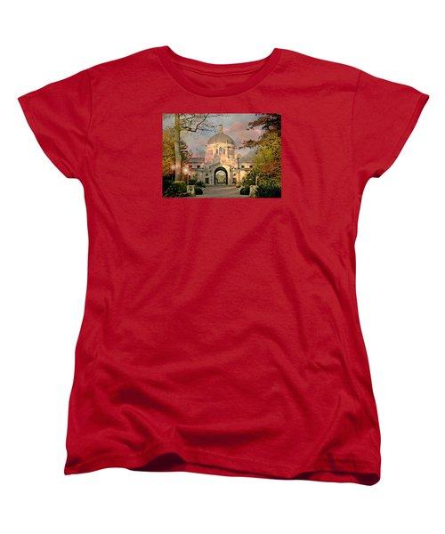 Bronx Zoo Entrance Women's T-Shirt (Standard Cut) by Diana Angstadt