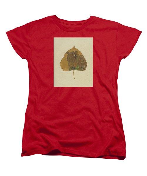 Brow Bear #2 Women's T-Shirt (Standard Cut) by Ralph Root