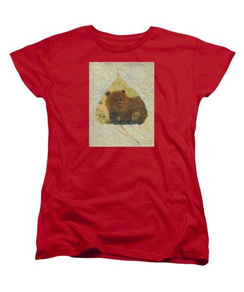 Brown Bear Women's T-Shirt (Standard Cut) by Ralph Root