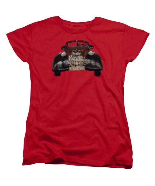 Brown Car Women's T-Shirt (Standard Cut) by David and Lynn Keller