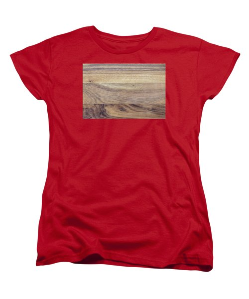 Brown Rubber Wooden Tray Handmade In Asia Women's T-Shirt (Standard Cut) by Jingjits Photography