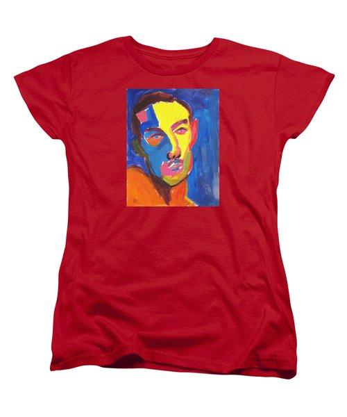 Bryan Portrait Women's T-Shirt (Standard Cut) by Shungaboy X