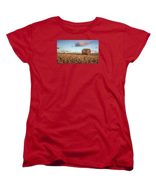 Bundy Hay Bales #7 Women's T-Shirt (Standard Cut) by Brad Grove