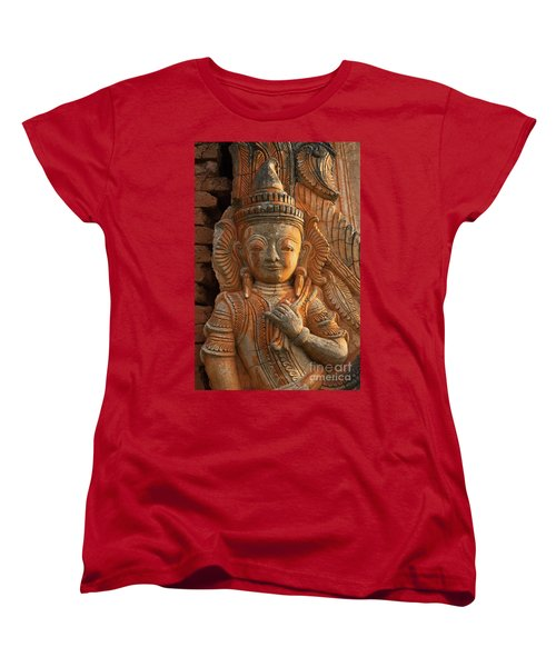 Burma_d187 Women's T-Shirt (Standard Cut) by Craig Lovell