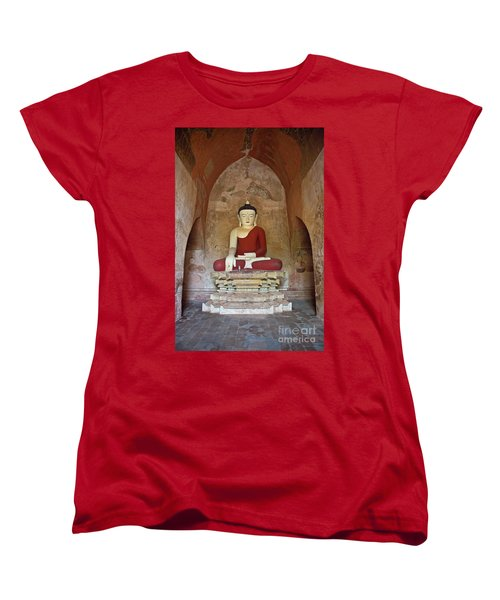 Burma_d2078 Women's T-Shirt (Standard Cut) by Craig Lovell