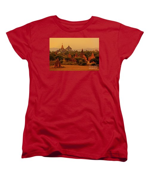 Burma_d2136 Women's T-Shirt (Standard Cut) by Craig Lovell