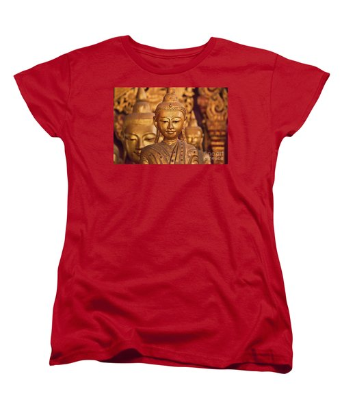 Burma_d579 Women's T-Shirt (Standard Cut) by Craig Lovell