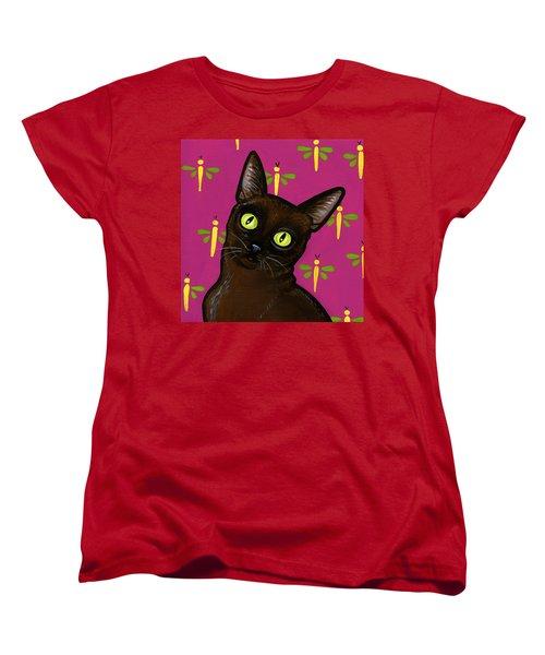 Burmese Best Women's T-Shirt (Standard Cut) by Leanne Wilkes