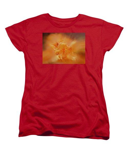 Burst Of Gold Women's T-Shirt (Standard Cut) by Richard Cummings