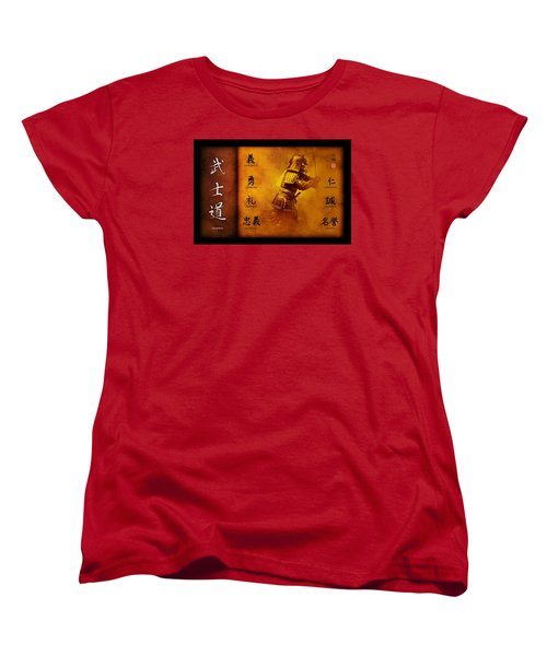 Bushido Way Of The Warrior Women's T-Shirt (Standard Cut) by John Wills