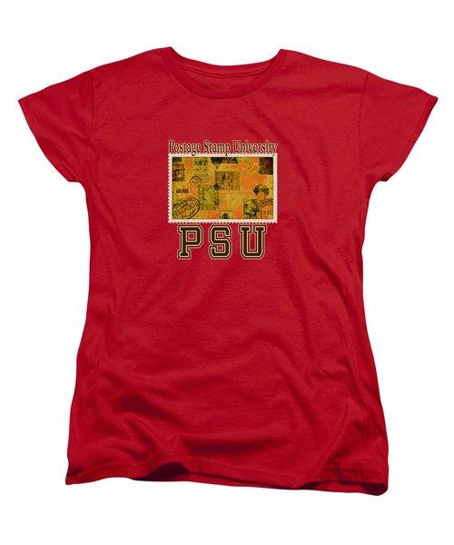 Bygone Postcard Women's T-Shirt (Standard Cut) by Richard Farrington