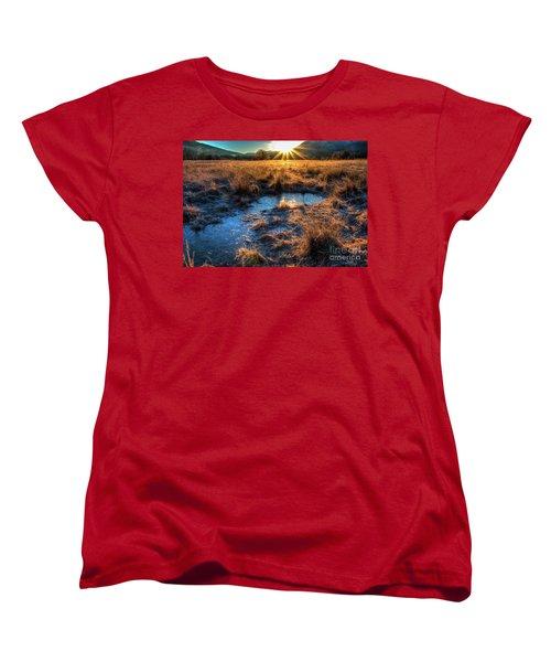 Cades Cove, Spring 2017,ii Women's T-Shirt (Standard Cut) by Douglas Stucky