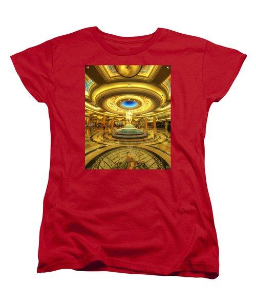 Caesar's Grand Lobby Women's T-Shirt (Standard Cut) by Yhun Suarez