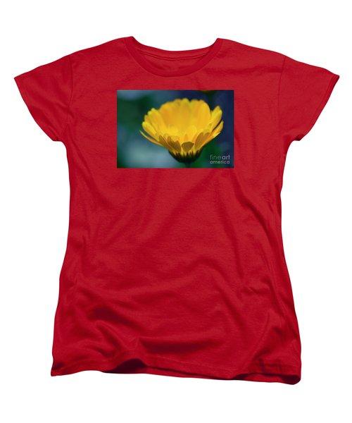 Women's T-Shirt (Standard Cut) featuring the photograph Calendula by Sharon Mau