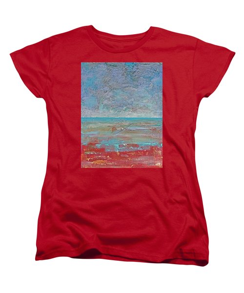 Calm Before The Storm Women's T-Shirt (Standard Cut) by Walter Fahmy
