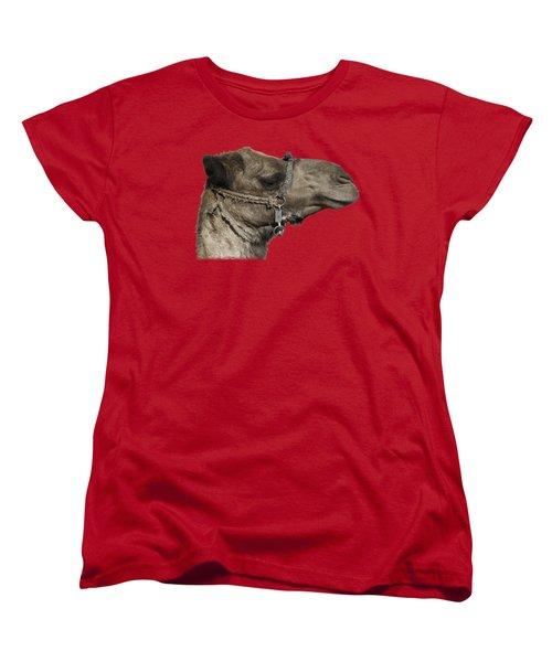 Camel's Head Women's T-Shirt (Standard Cut) by Roy Pedersen