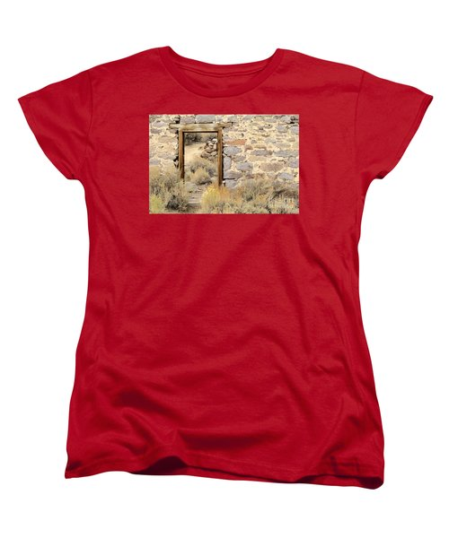 Doorway To Nowhere Women's T-Shirt (Standard Cut)