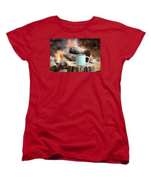 Campfire Coffee Women's T-Shirt (Standard Cut)