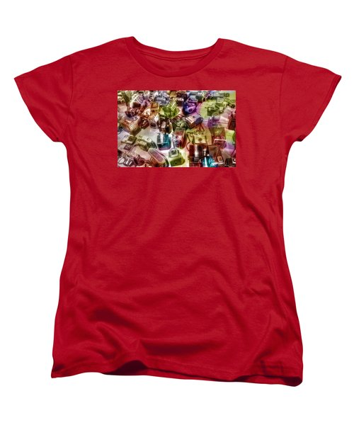 Candy Camera Women's T-Shirt (Standard Cut) by Michaela Preston