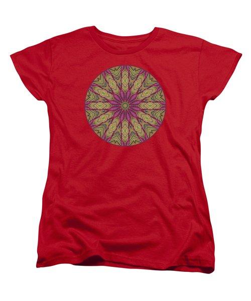 Canna Leaf - Mandala - Transparent Women's T-Shirt (Standard Fit)