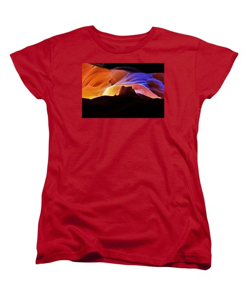Canyon Antelope Women's T-Shirt (Standard Cut) by Evgeny Vasenev