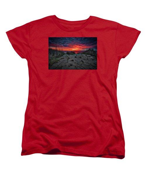 Cape Cod Sunrise Women's T-Shirt (Standard Cut)