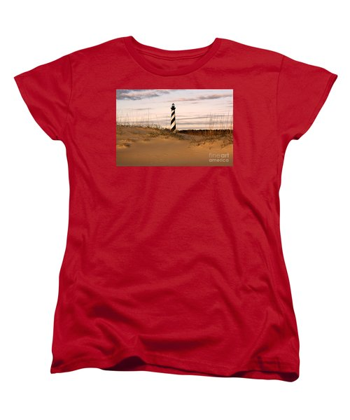 Women's T-Shirt (Standard Cut) featuring the photograph Cape Hatteras Lighthouse by Tony Cooper