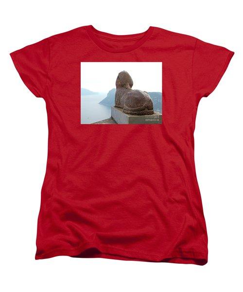 Women's T-Shirt (Standard Cut) featuring the photograph Capri, Villa San Michele 1 by Wilhelm Hufnagl