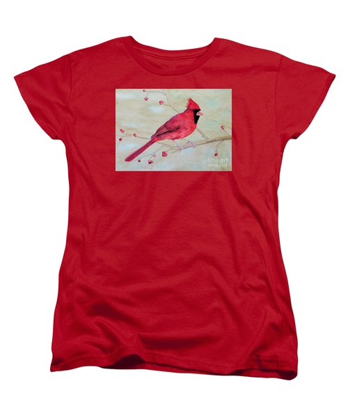 Cardinal II Women's T-Shirt (Standard Cut) by Laurel Best