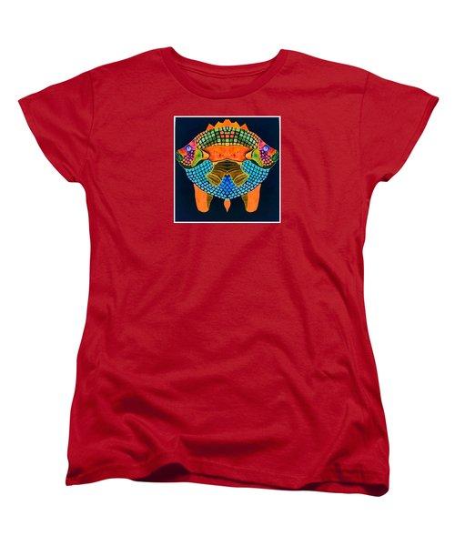Caribean Fish Women's T-Shirt (Standard Cut) by Sandra Lira